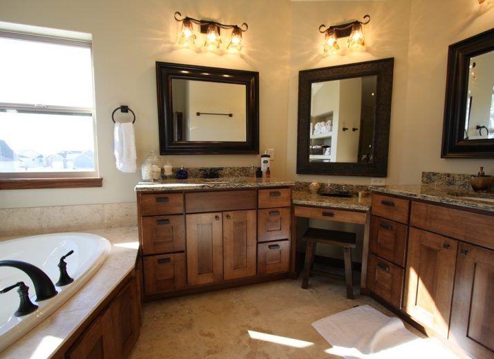 17 Best Ideas About Bathroom Makeup Vanities On Pinterest Master Bathroom Vanity Granite