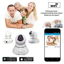 Homtrol Smart Home IP Camera PTZ Wifi IR Wireless Camera Pan / Tilt digital zooming IR-CUT P2P Wifi Security Camera
