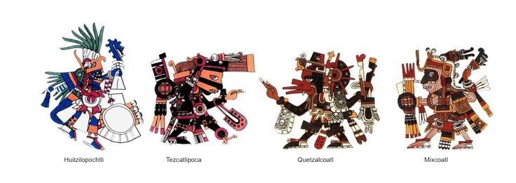 aztec1figure6.jpg Dioses Aztecas image by Rafaqpok