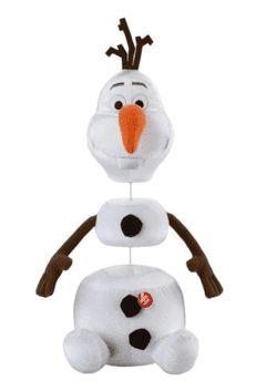 Pelúcia Frozen Olaf Com Frases