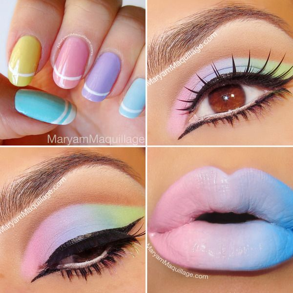 """Happy Pastels!"" by Maryam Maquillage"