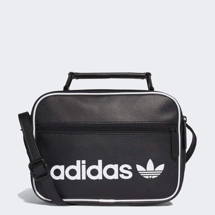 Adidas Mini Vintage Airliner Bag Black Adidas Us Bags Black Handbags Bag Sale