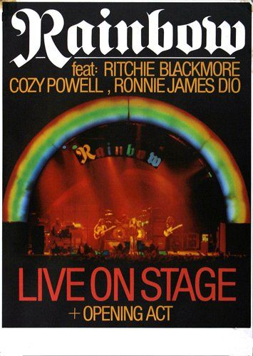 Rainbow - The Rising 1977 - Poster Plakat Konzertposter