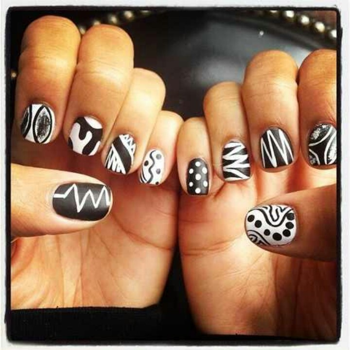 154 Best Nail Patterns Images On Pinterest Nail Scissors Make Up