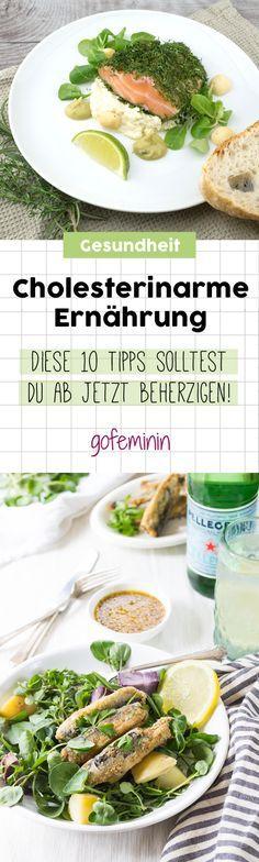 Cholesterinarme Ernährung: Die 10 besten Tipps