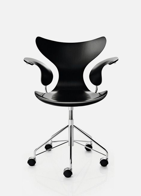 Lily swivel armchair, 1970 | Arne Jacobsen