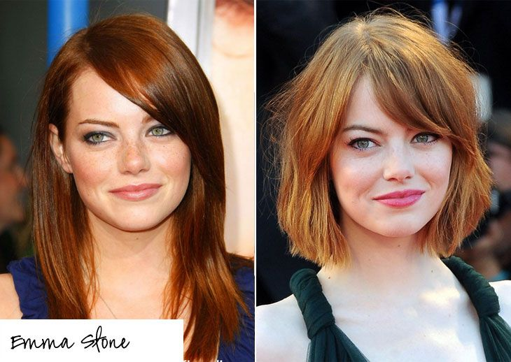 cabelos curtos Emma Stone