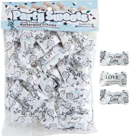 2 Bags Always And Forever Pillow Mints 50ct Party City
