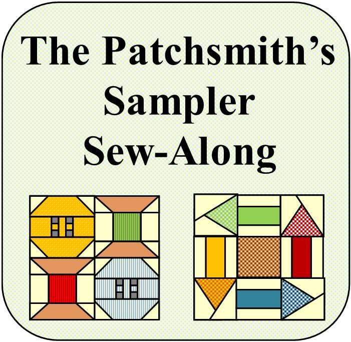 Carve out a little bit of sewing time and join me, The Patchsmith as I sew a block a week starting 5th March 2018.
