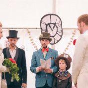 Alice in Wonderland Wedding - ceremony ideas