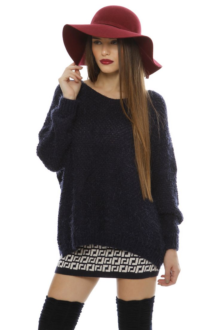 Fluffy Oversize Sweater