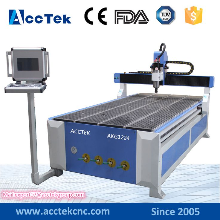 Jinan Acctek new design 1224 cnc machine milling wood , cnc wood carving machine with industry computer #Affiliate