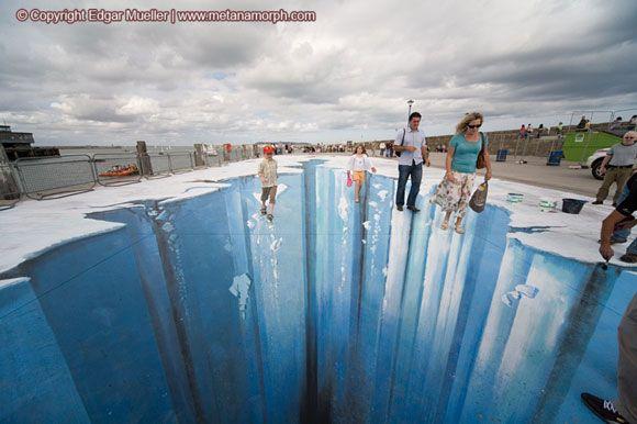 Edgar Mueller   3d street art mueller