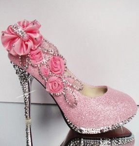 zapatos para 15 años imagenes rosados