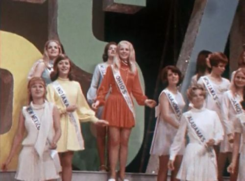 1970 America's Junior Miss Pageant