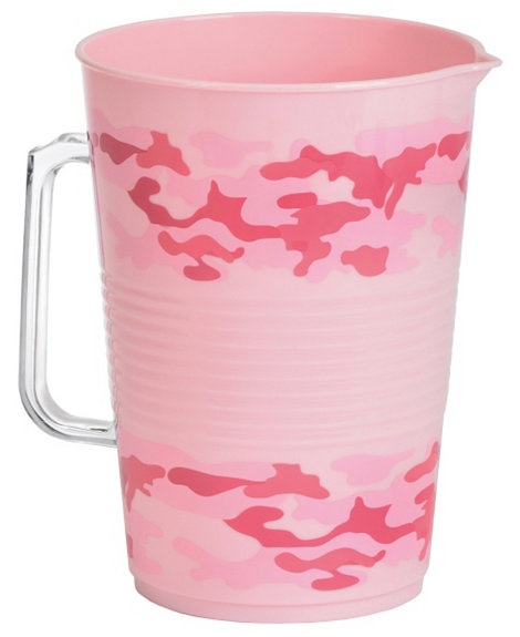 Pink Camo Party Pitcher