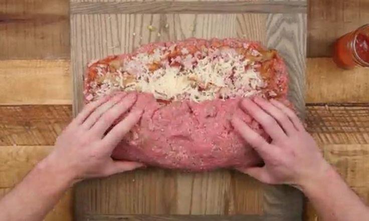 Ce pain de viande SURPRISE au bacon, un CLASSIQUE revu et corrigé... au grand BONHEUR de tous