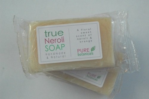 Neroli,Paraben and Sulphate free Handmade LUXURY NEROLI BAR by Pure Botanicals by Pure Botanicals, http://www.amazon.co.uk/dp/B00A0K0YRO/ref=cm_sw_r_pi_dp_QDdZqb0CSTQQX