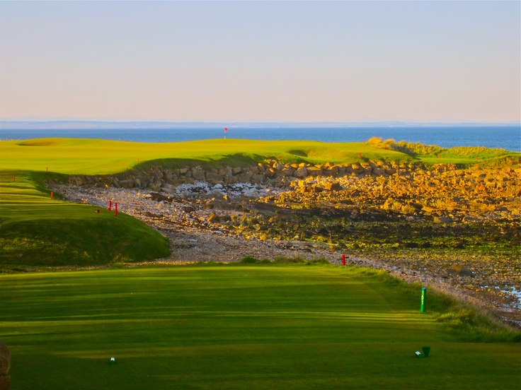 "Kingsbarns Golf Links- This beauty is only a few miles from ""The Home of Golf"". Kingsbarns is a must course when visting Scotland."