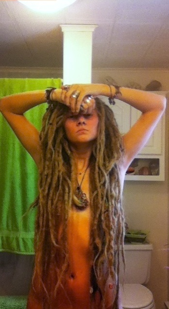 My idol - lol. My goal is to get my dreads thing length and seriously go back to my natural color