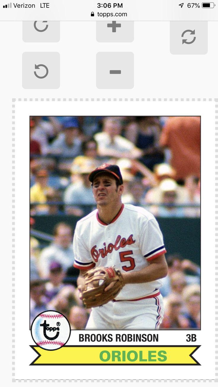 Park Art|My WordPress Blog_Brooks Robinson Baseball Card 1973