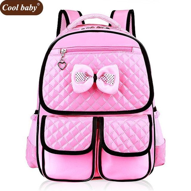 5e2b92499c8 Cool baby High Quality PU Girl Backpack New Fashion Grade 1-3-6 ...