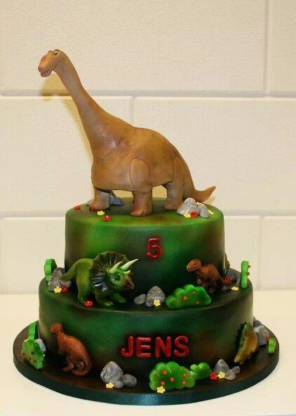 Dinosaurus taart / Dinosaur cake