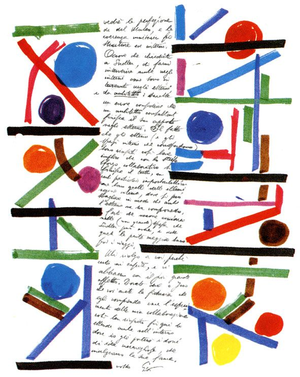 another gio ponti letter