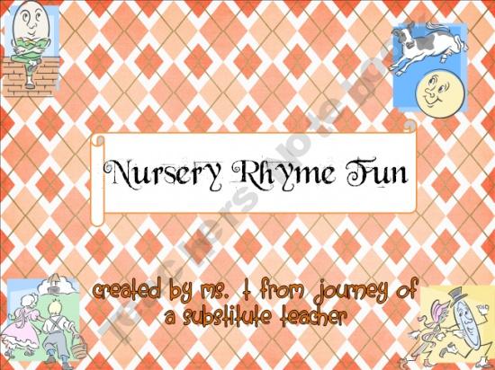 Nursery Rhyme Fun