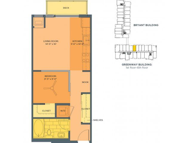 27 best floor plans one br apt images on Pinterest | Small