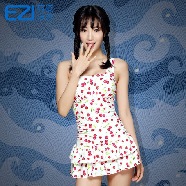 Yi Zi EZI spring steel support gather small chest cover belly slim slim skirt style suit 1249 Siamese students US $61.07 Specifics Material	Nylon, spandex Pattern Type	Print Support Type	Underwire With Pad	No Gender	Women Item Type	One Pieces Time to market	In the fall of 2015 Item no	Ezi1249 Style	Skirt one Whether to strip girdle padding	Strip girdle padding Size	S (A  Click to Buy :http://goo.gl/t9O329