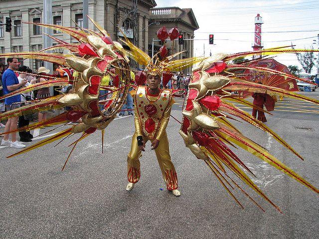Carnaval. Trinidad. Port of Spain.