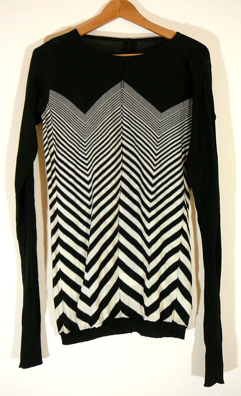 RICK OWENS, GEOMETRIC PULLOVER. I can't wait for fall fashion.