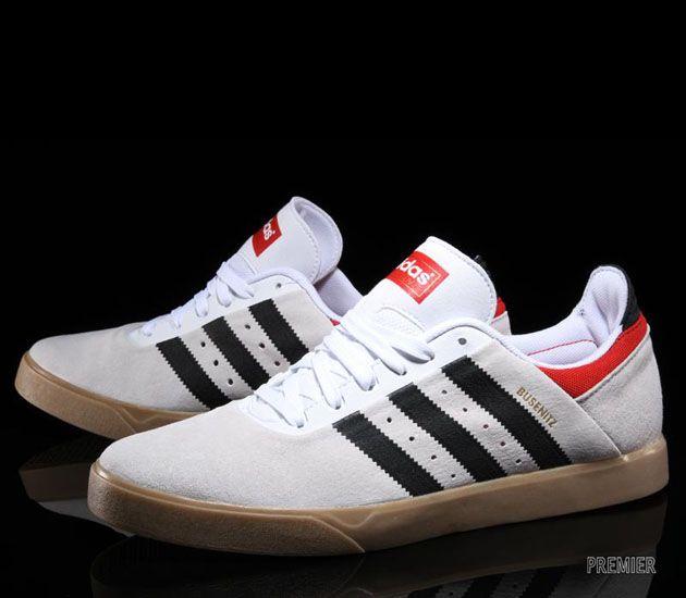 adidas Busenitz ADV – Running White / Black – Brick