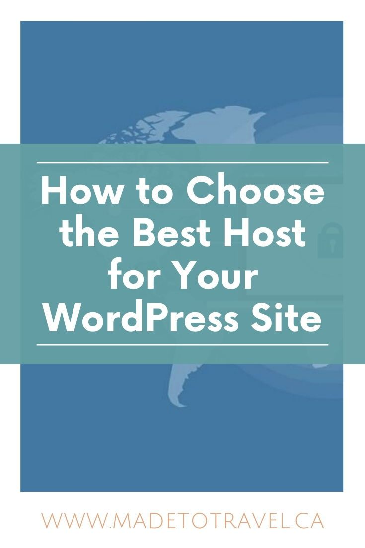 The Best Host For Wordpress Sites In 2020 Made To Travel Hosting Wordpress Wordpress Site