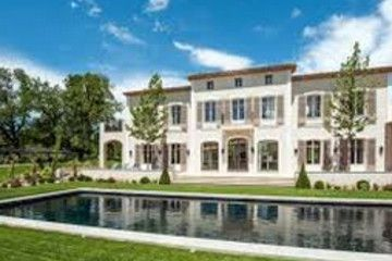 A sprawling French estate