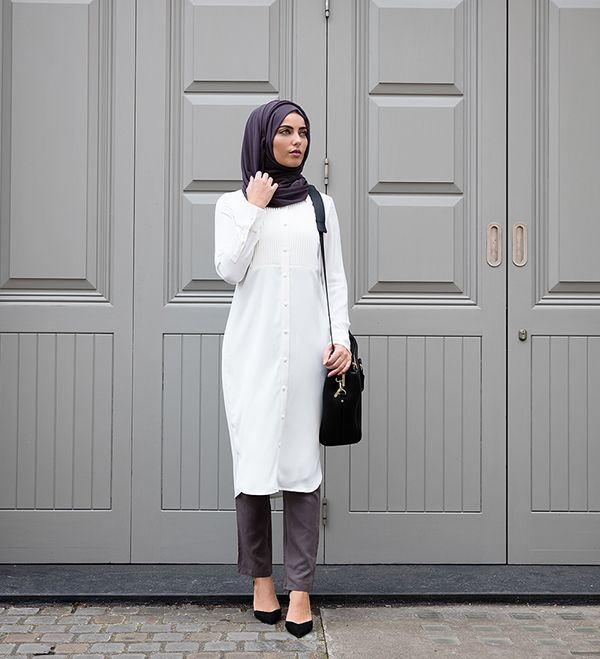 The Modest Work Shirt - £49.99 : Inayah, Islamic Clothing & Fashion, Abayas, Jilbabs, Hijabs, Jalabiyas & Hijab Pins