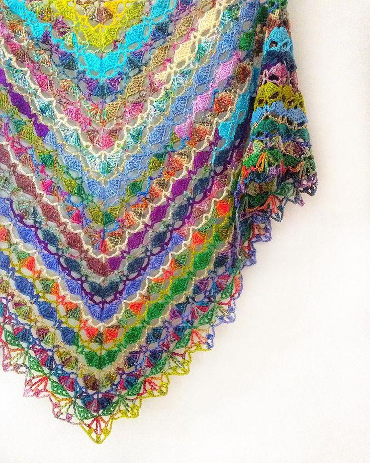 410 best Schal häkeln Crochet Shawl images on Pinterest ...