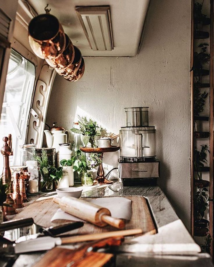 "Airstream Dreams on Instagram: ""#RosemaryTheAirstream looks like the perfect place to whip up some marshmallows, @tifforelie """