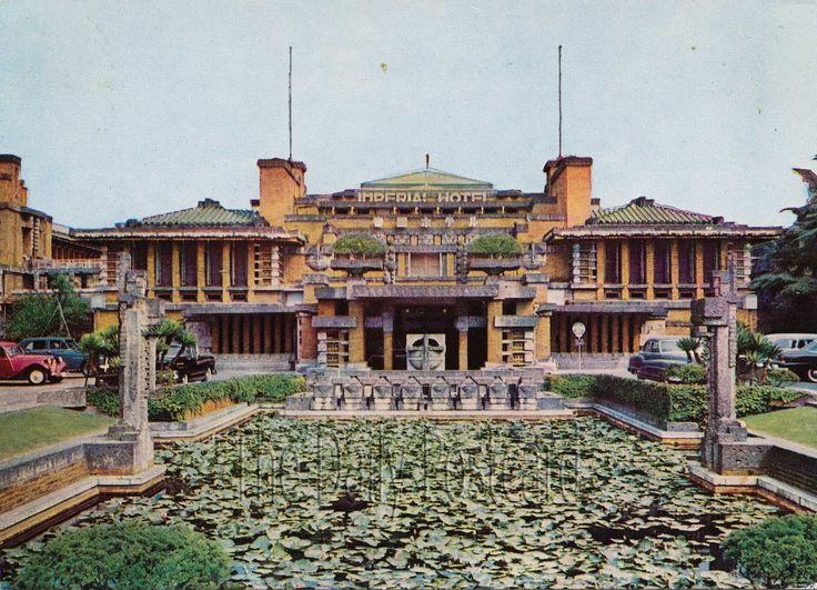 Frank Lloyd Wright, Imperial Hotel, Tokyo, Japan
