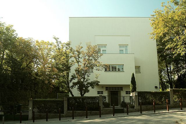 The Moller House by Adolf Loos. I find both his writings and architecture inspirational.