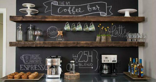 Deu aquela vontade de tomar café, que tal ter um lugarzinho super decorado e charmoso em casa com tudo à mão para tomar aquele café maravilh...