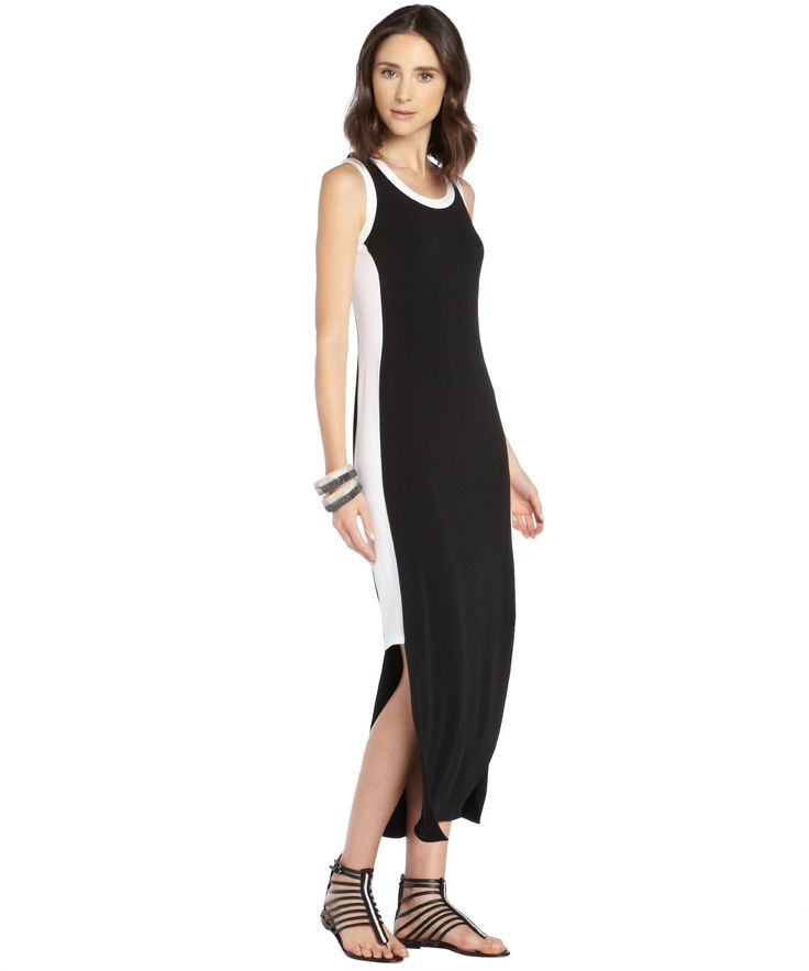 Marc New York Colorblock Maxi Dress