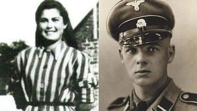 Franz Wunsch and Helena Citronova. The SS guard that had a romantic relationship with a Jewish woman.