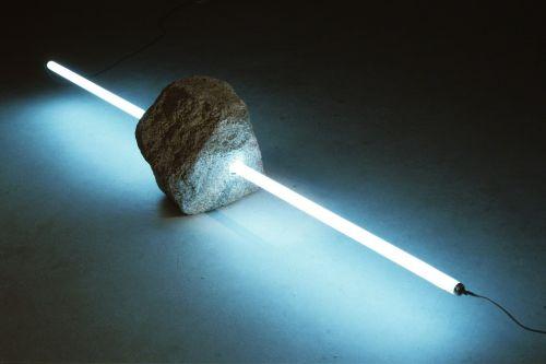 Tatsuo Kawaguchi - Stone and Light 4 1989