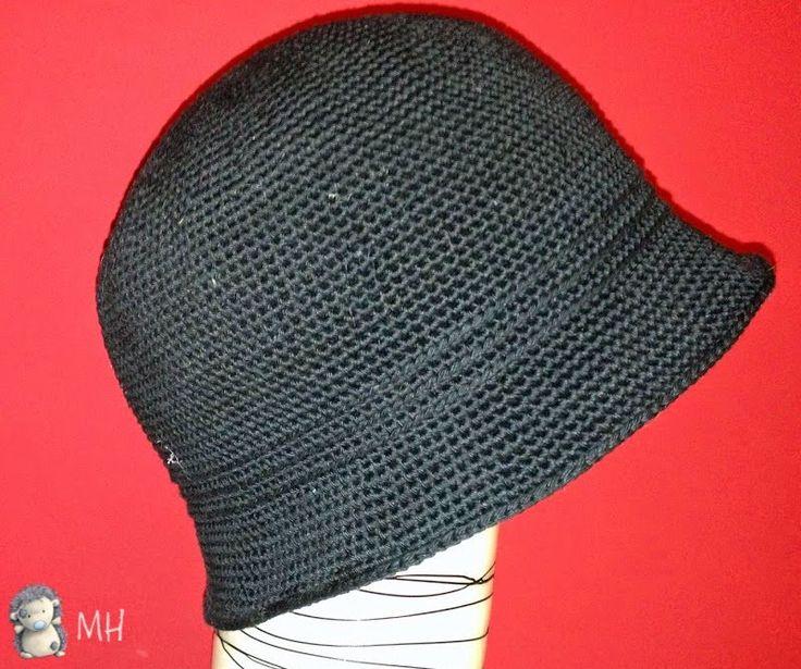 Sombrero cloche de ganchillo                                                                                                                                                                                 Más