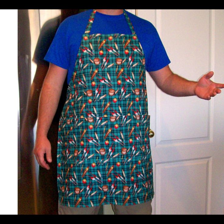 New man aprons recently posted - check out this fishing theme