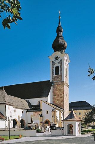 Altenmarkt im Pongau, Dekanatskirche Unsere Liebe Frau Geburt (St. Johann im Pongau) Salzburg AUT