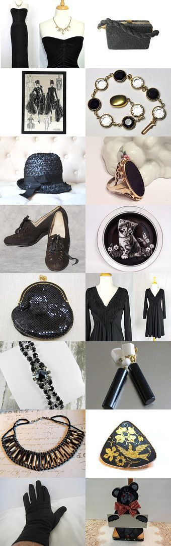 Black Valentines Gift ❤ by Dorota and Monika on Etsy--Pinned+with+TreasuryPin.com