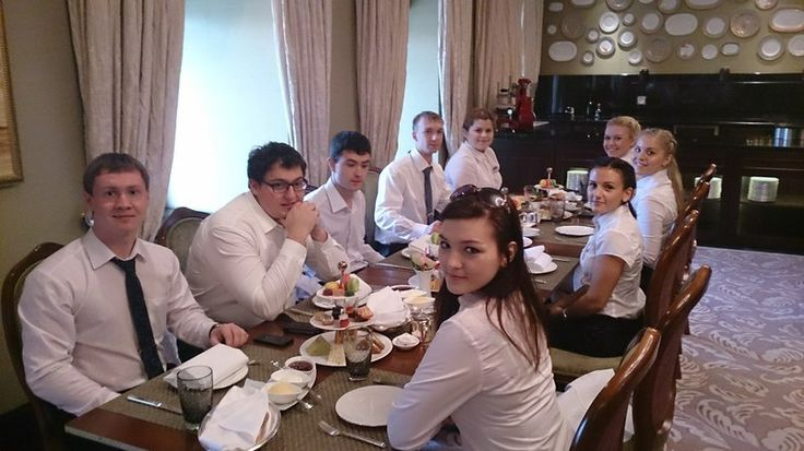 Lunch at Hotel Nikol'skaya Kempinski